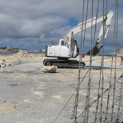 Coral Excavation & Jetty Construction (Tahiti)