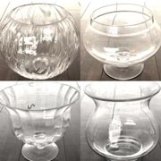 Big Glass Vase with a variety of choice