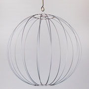 Baloo Round  Ball Naked Wired Shade
