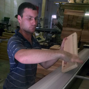 Shaping of the Wood.