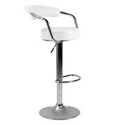 White 306 Bar Stool