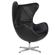 Black Egg Single Seater Couch