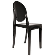 Black Ghost Cafe Chair