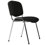 Black Meeting Dining Chair