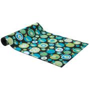 Blue Apple Patterned Carpet Runner