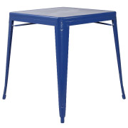 Blue Xavier Cafe Table