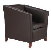 Brown Club Single Seater