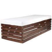 Brown Pallet Day Bed
