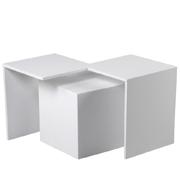 White Callisto Side Table