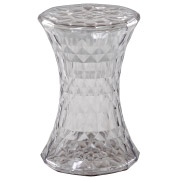 Clear Crystal Side Table