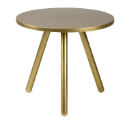 Gold Crosby Side Table