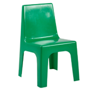 Green Kids Plastic Chair