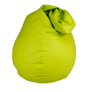 Green Leather Bean Bag