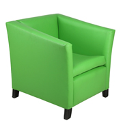 Green Club Single Seater Couch