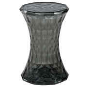 Grey Crystal Side Table