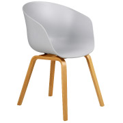 Grey Hay Cafe Chair