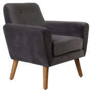 Grey Sexton Single Seater Couch