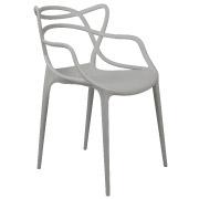 Grey Twist Cafe Chair
