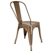 Gunmetal Xavier Cafe Chair