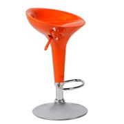 Orange Apollo Bar Stool