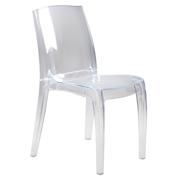 Transparent Phantom Cafe Chair