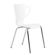 White Java Cafe Chair