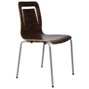 Mahogany Ebano Cafe Chair