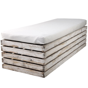 White Washed Pallet Day Bed