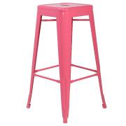 Pink Xavier Bar Stool