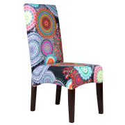 Psychedelic Patterned Colourful Dining Chair