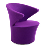 Purple Meld Tub Single Seater Couch