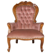 Queen Anne Single Seater Couch