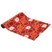 Red Apple Patterned Carpet Runner