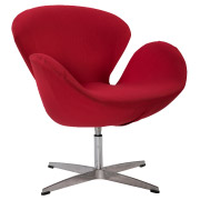 Red Swan Single Seater Couch