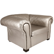 Silver Madison Single Seater Couch