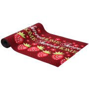 Strawberry Patterned Carpet Runner