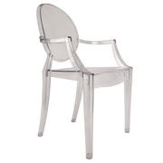 Transparent Ghost Cafe Chair