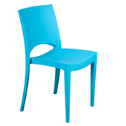 Turquoise Stellar Cafe Chair