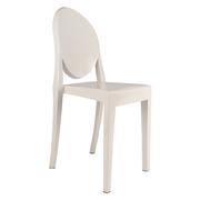 White Ghost Cafe Chair