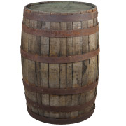 Wooden Wine Barrel Cocktail Table