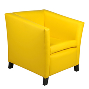 Yellow Club Single Seater Couch