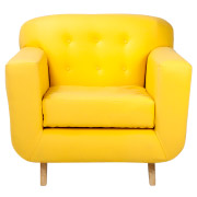 Yellow Mississippi Single Seater Couch