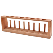 8 Hole Wooden Test Tube Stand