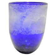 Blue Frost Vase