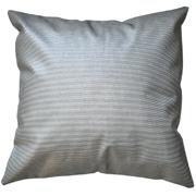 Bump Texture PVC Cushion Cover Grey