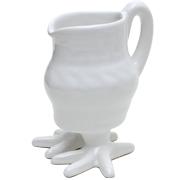 Ceramic Chicken Jug with Feet