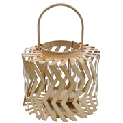 Chevron Candle Lantern
