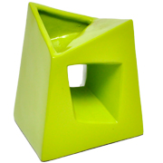 Chimney Vase Small Lime Green