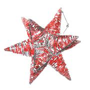 Coke Tin Star Lantern