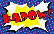 Comic Book Lycra Panel Kapow